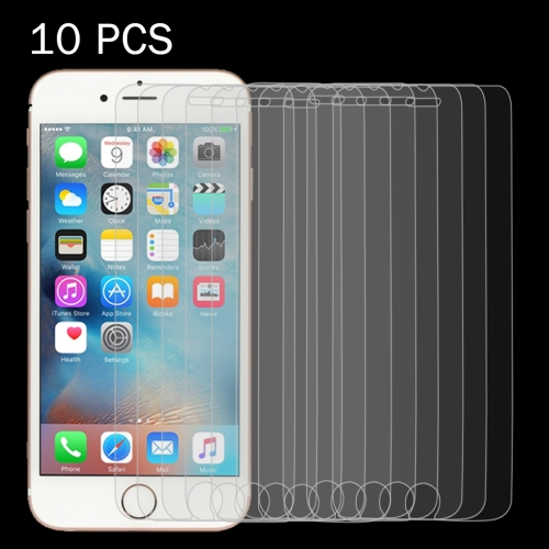 Buy 10 PCS 0.26mm 9H Surface Hardness 2.5D Explosion-proof Tempered Glass Screen Film for iPhone 6 & 6s for $3.93 in SUNSKY store