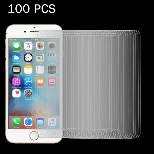 Surface Hardness 2.5D Explosion-Proof Tempered Glass Film Tempered Glass Film Screen Protector 100 PCS for iPhone 6 Plus0.26mm 9H