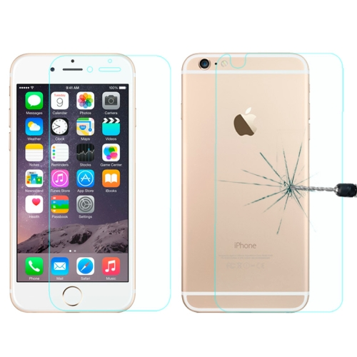 Buy 0.26mm Explosion-proof Front and Back Screen Protector Tempered Glass Film for iPhone 6 Plus for $1.09 in SUNSKY store