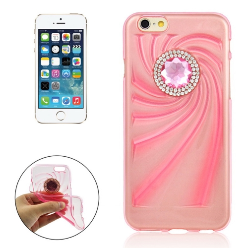 Buy Fashionable Ultrathin Diamond Encrusted TPU Protective Case for iPhone 6 Plus, Pink for $1.35 in SUNSKY store