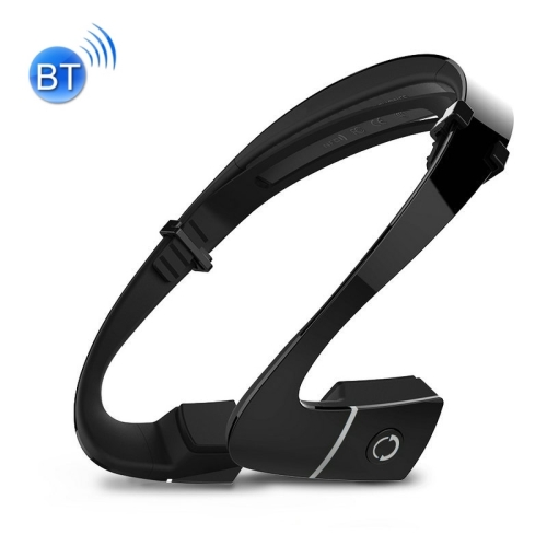 Buy LF-18 Ear Hook Bone Conduction Bluetooth 4.1 Sports Headphone Headset with Mic, Support Calling Function, Black for $37.79 in SUNSKY store