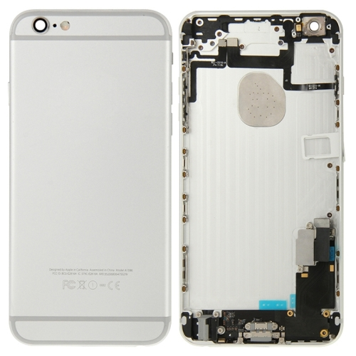 Full Housing Back Cover for iPhone 6 Plus (Silver)