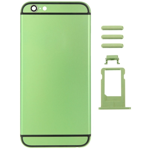 Buy Metal Full Assembly Replacement Housing Cover for iPhone 6 Plus, Including Back Cover & Card Tray & Volume Control Key & Power Button & Mute Switch Vibrator Key, Green for $21.35 in SUNSKY store