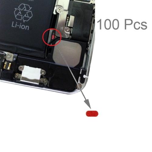 100 PCS Mainboard Waterproof Sticker Water Sensitive Adhesive for iPhone 6 Plus