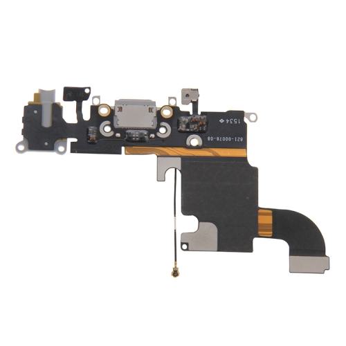 Charging Port Flex Cable for iPhone 6s (Grey)