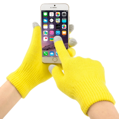 Buy Three Fingers Touch Screen Winter Warm Touch Gloves, Size: 21*13cm for $1.27 in SUNSKY store