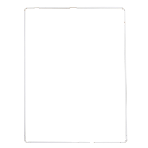 Replacement LCD Frame Front Housing Bezel Frame with Adhesive Sticker for iPad 2(White)