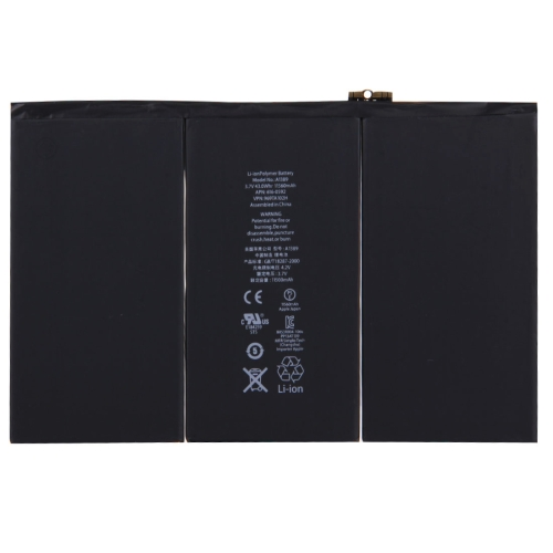 Original 3.7V 11560mAh Battery Backup for New iPad (iPad 3) / iPad 4(Black)