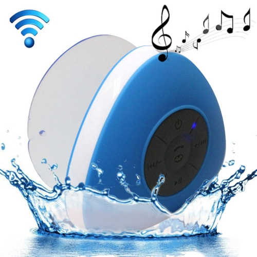 Buy Triangle Style Mini Waterproof Bluetooth Speaker for iPad / iPhone / Other Bluetooth Mobile Phone, Support Handfree Function, Waterproof Level: IPX4, Blue for $8.18 in SUNSKY store