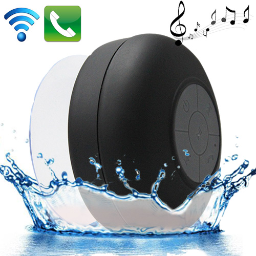 Buy Mini Waterproof Bluetooth ISSC3.0 Speaker for iPad / iPhone / Other Bluetooth Mobile Phone, Support Handfree Function, Waterproof Level: IPX4, BTS-06, Black for $9.56 in SUNSKY store