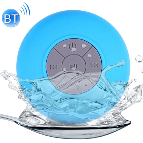 Buy Mini Waterproof Bluetooth ISSC3.0 Speaker for iPad / iPhone / Other Bluetooth Mobile Phone, Support Handfree Function, Waterproof Level: IPX4, BTS-06, Blue for $9.56 in SUNSKY store