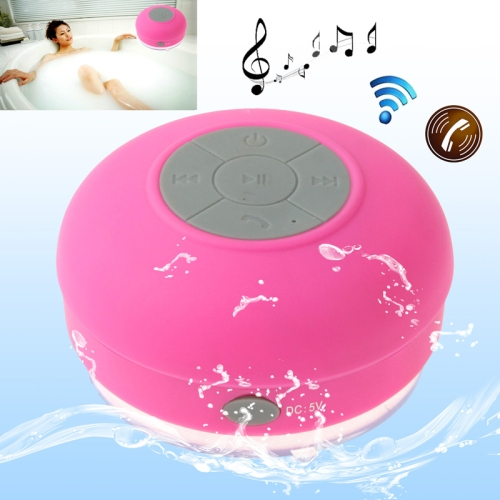 Buy Mini Waterproof Bluetooth Speaker for iPad / iPhone / Other Bluetooth Mobile Phone, Support Handfree Function, Waterproof Level: IPX4, BTS-06, Magenta for $9.56 in SUNSKY store