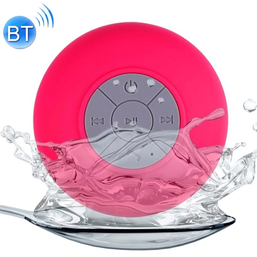 BTS-06 Mini Waterproof IPX4 Bluetooth V2.1 Speaker,Support Handfree Function, For iPhone, Galaxy, Sony, Lenovo, HTC, Huawei, Google, LG, Xiaomi, other Smartphones and all Bluetooth Devices(Magenta)