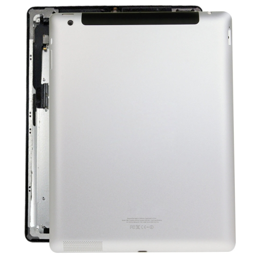 Back Housing Cover Case Replacement for iPad 4(4G Version)