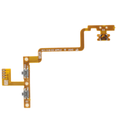 Version Switch Flex Cable + Volume Flex Cable for iPod Touch 4