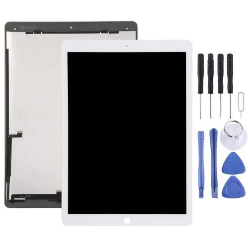 White iPad Pro 12.9 A1584 A1652 LCD Display Touch Screen Digitizer Replacement