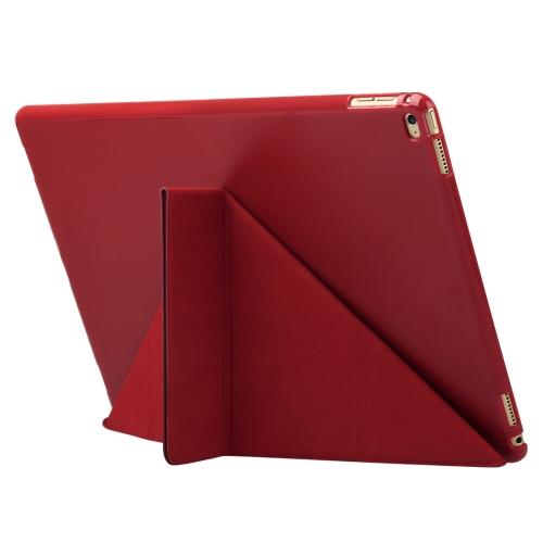 373fdd51c SUNSKY - Funda de cuero con tapa de la serie Baseus Terse con soporte  plegable plegable y función de suspensión / reposo para iPad Pro de 12,9  pulgadas ...