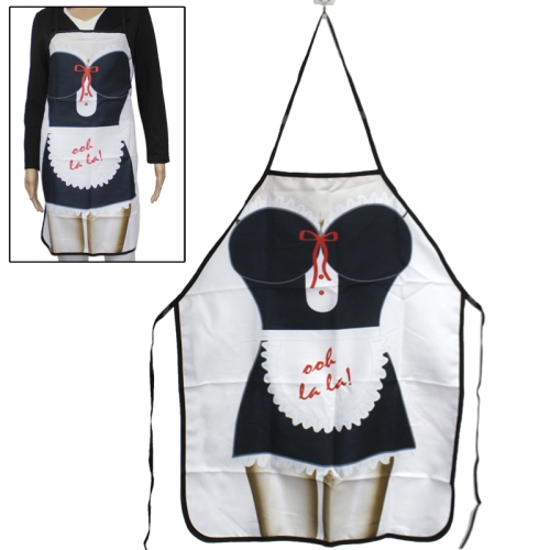 Buy Maidservant Style Novelties Funny Cooking Apron Kitchen Apron Festival Creative Sexy Apron for $4.50 in SUNSKY store