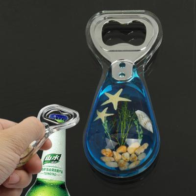 Buy Amber Style Blue Pattern Design Bottle Opener Soda Cola Beer Decapper for $2.73 in SUNSKY store
