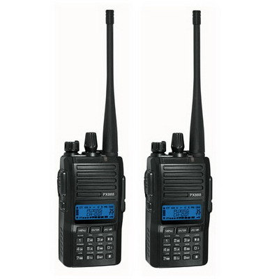 Buy 2 pcs Walkie Talkie, Support 128 memory channel, Double channels watch, Receive FM radio, Scrambler, Frequency range: 136-174MH for $155.79 in SUNSKY store