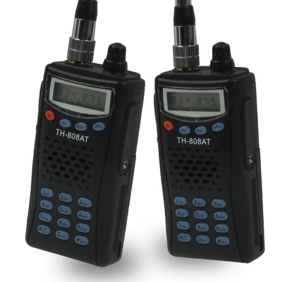 Buy TH-808AT Walkie Talkie, Support 99 channels, Scan Channel and Monitor Function, Wireless Distance: 3-5KM (2pcs in one packaging, the price is for 2pcs) for $73.32 in SUNSKY store