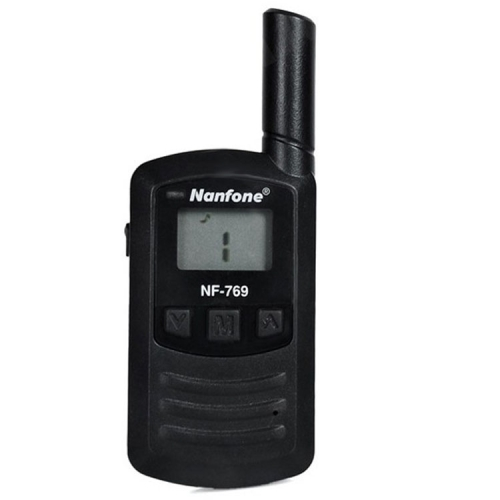 NF-769 Mini Walkie Talkie, Support 25 channels, Scan Channel and Monitor Function, Wireless Distance: 3-5KM