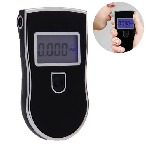 3 digitals LCD Display Breath Alcohol Tester Analyzer(Black)