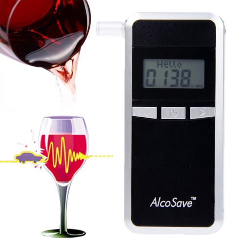 Buy Alcohol 4 Digital LCD Display Breath Analyzer Tester, Black for $21.84 in SUNSKY store