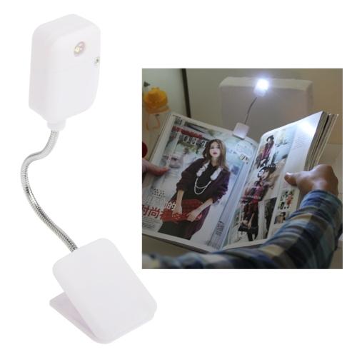 Buy White LED Snake Tube Clip Book Light, YHX-1076, White for $1.36 in SUNSKY store