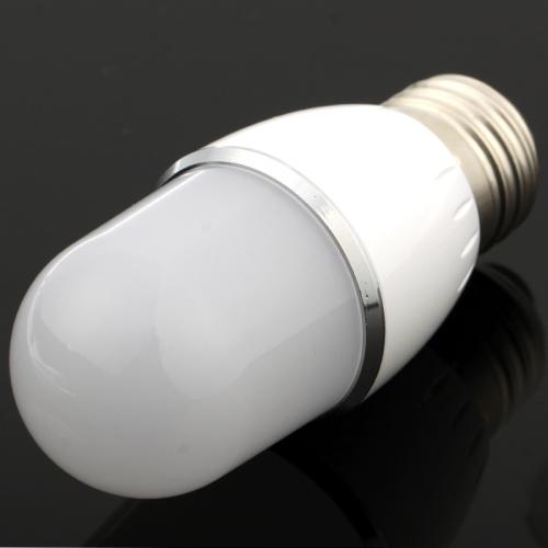 Buy E27 3W White Energy Saving Ball Steep Light Bulb, AC 85-265V for $4.46 in SUNSKY store