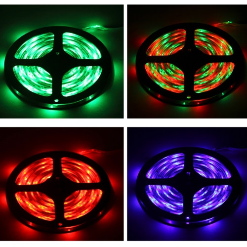 Buy 3528 SMD Waterproof RGB LED Strip with 44 Keys RGB LED Light Controller, 300 LED and Length: 5m for $7.99 in SUNSKY store