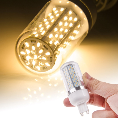Buy G9 6.5W SMD 3014 Warm White 120 LED Corn Light Bulb, AC 85-265V for $2.90 in SUNSKY store