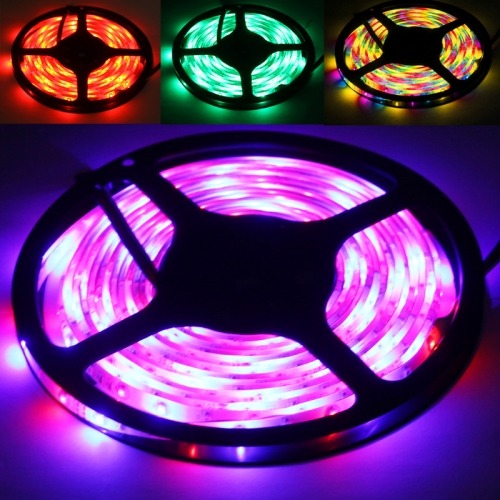 Epoxy Waterproof Rope Light, Length: 5m, RGB Light 2835 SMD LED with Remote Controller, 60 LED/m фото