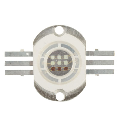 10W High Power RGB LED Lamp for Floodlight, Luminous Flux: 800-900lm