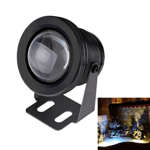 Buy 10W White LED Underwater Light, DC 12V, Luminous Flux: 800-900lm, Black for $4.74 in SUNSKY store