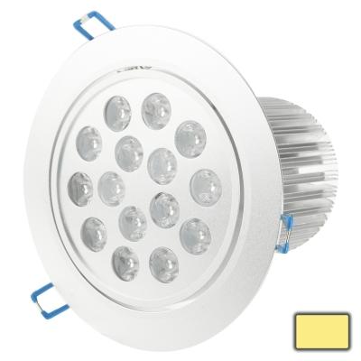 Buy 15W High Quality Aluminum Material Warm White Light 15 LED Down Light, AC 85-265V for $7.79 in SUNSKY store
