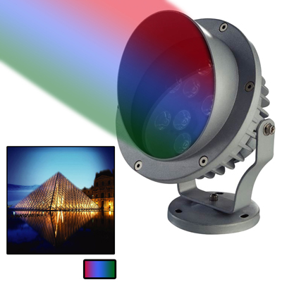 Buy 6W / 480LM High Quality Die-cast Aluminum Material RGB Light LED Floodlight Lamp for $23.02 in SUNSKY store