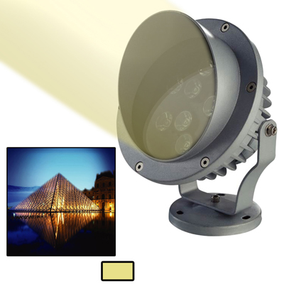 Buy 6W / 480LM High Quality Die-cast Aluminum Material Warm White Light LED Floodlight Lamp for $20.98 in SUNSKY store