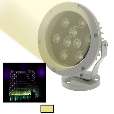Buy 9W / 720LM High Quality Die-cast Aluminum Material Warm White Light LED Floodlight Lamp for $17.85 in SUNSKY store