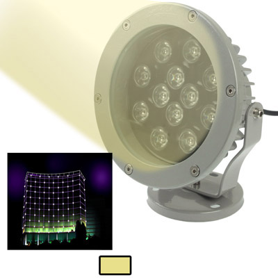Buy 12W / 960LM High Quality Die-cast Aluminum Material Warm White Light LED Floodlight Lamp for $30.43 in SUNSKY store