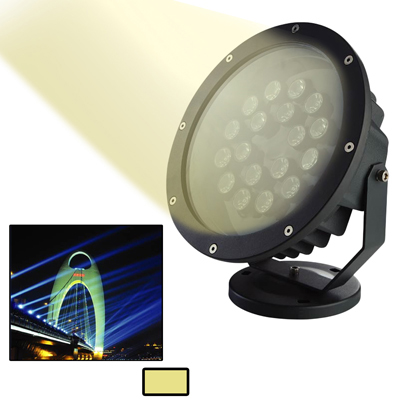Buy 12W / 960LM High Quality Die-cast Aluminum Material Warm White Light LED Floodlight Lamp for $28.02 in SUNSKY store