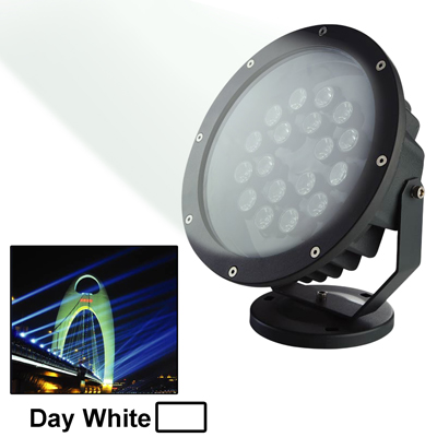 Buy 18W / 1440LM High Quality Die-cast Aluminum Material Day White Light LED Floodlight Lamp for $21.24 in SUNSKY store