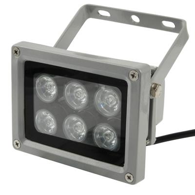 Buy 6W White 6 LED Floodlight Lamp, AC 85-265V, Luminous Flux: 540-600lm for $5.94 in SUNSKY store