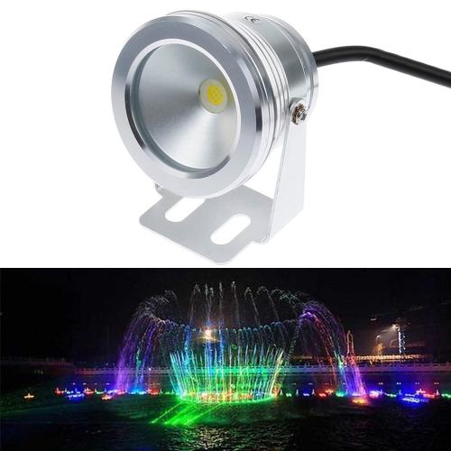Buy 10W White LED Underwater Light, DC 12V, Luminous Flux: 800-900lm for $6.74 in SUNSKY store