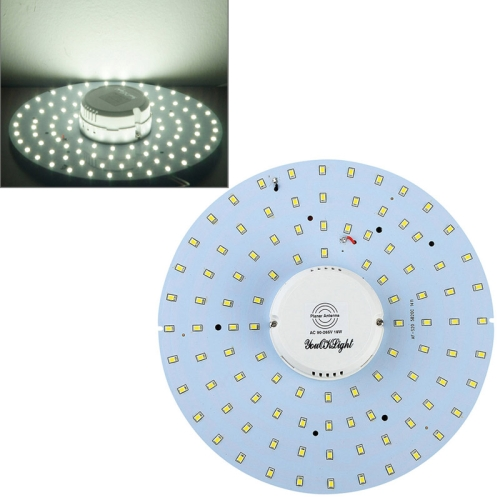 Buy YouOKLight 19W 1900LM 6000K 100 LED SMD 2835 White Body Induction Ceiling Light, AC 90-265V for $14.99 in SUNSKY store