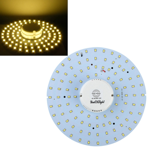 Buy YouOKLight 19W 1900LM 6000K 100 LED SMD 2835 Warm White Body Induction Ceiling Light, AC 90-265V for $14.99 in SUNSKY store