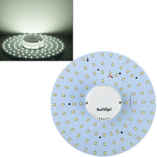 Buy YouOKLight 19W 1900LM 6000K 100 LED SMD 2835 White Ceiling Light Source, AC 90-265V for $10.89 in SUNSKY store