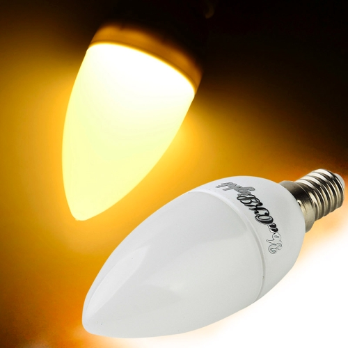 Buy YouOKLight E14 2W 150LM 3000K Warm White 8 LED SMD 2835 Candle Light Bulb, AC 220V for $1.10 in SUNSKY store