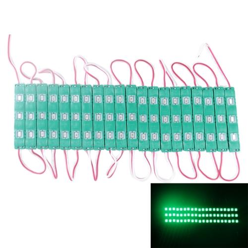 Buy 18W 1573LM 180 Degrees Green Light 20x3-LED SMD 5730 Module Light Strip, DC 12V, Green for $7.30 in SUNSKY store
