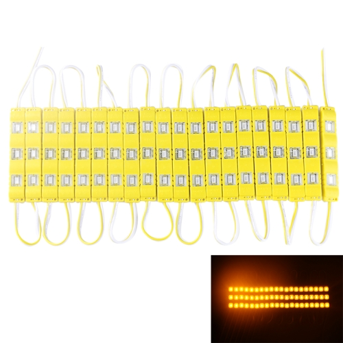 Buy 18W 1573LM 180 Degrees Yellow Light 20x3-LED SMD 5730 Module Light Strip, DC 12V, Yellow for $7.30 in SUNSKY store
